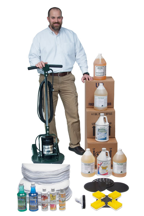 Challenger Carpet Cleaning Starter Package