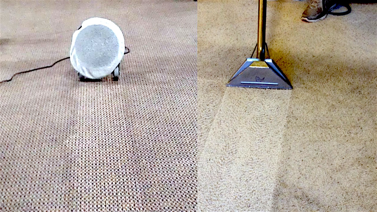 Hot Water Extraction vs Oscillating Pad Cleaning